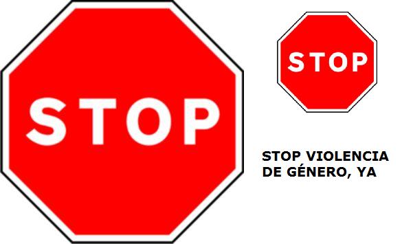 stop violencia de género