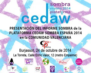 Cartel CEDAW 24 Oct 2014