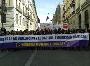 CONTRA LAS VIOLENCIAS Y EL CAPITAL FEMINISMO RADICAL