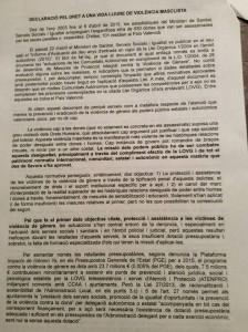 Declaració en valencià