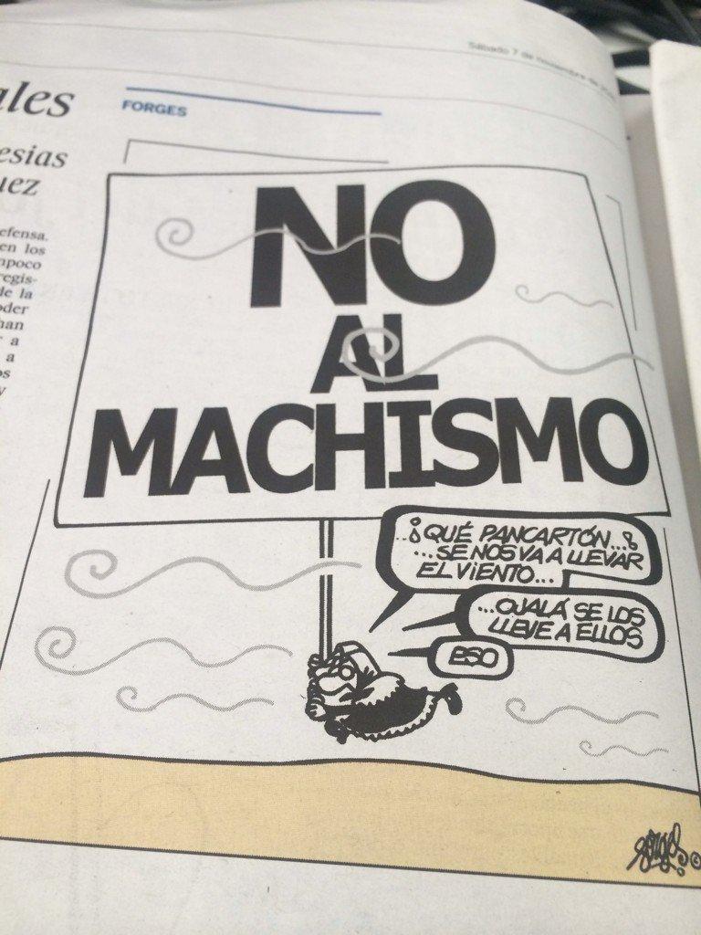 No al machismo